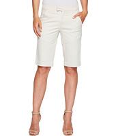 Ivanka Trump - Stretch Cotton Bermuda Shorts in Khaki