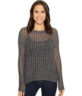 Tribal - Long Sleeve Novelty Tweed Yarn Sweater