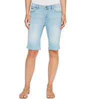 Ivanka Trump - Denim Bermuda Shorts in Antique Bleach