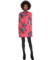 McQ - Short Clash Floral Dress