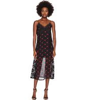 McQ - Decon Slip Amp Floral Dress