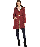 MICHAEL Michael Kors - Hooded Down with Belt M821417C