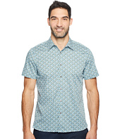 Perry Ellis - Short Sleeve Micro Multicolor Floral Shirt