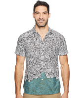 Perry Ellis - Short Sleeve Luau Flower Shirt