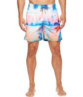 BUGATCHI - Paradise Palm Swim Trunks