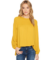 kensie - Luxury Crepe Top with Ruching KS0K4354