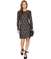 kensie - Ponte Long Sleeve Dress KS0K8103