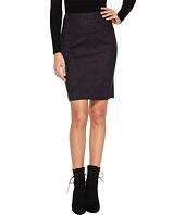 kensie - Scuba Suede Skirt KS0U6181