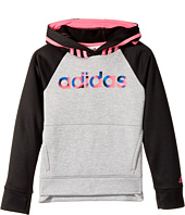 adidas Kids - Color Block Hooded Pullover (Toddler/Little Kids)