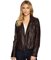 French Connection - Faux Leather Moto Jacket