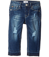 Hudson Kids - Christa Release Five-Pocket w/ Release Hem Super Stretch in Vintage Blue Wash (Infant)