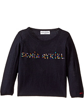 Sonia Rykiel Kids - Long Sleeve Sweater w/ Embellished Logo (Toddler/Little Kids)