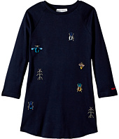 Sonia Rykiel Kids - Long Sleeve Dress w/ Embellished Insect Design (Toddler/Little Kids)