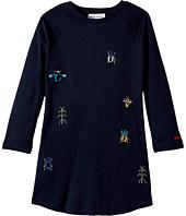 Sonia Rykiel Kids - Long Sleeve Dress w/ Embellished Insect Design (Toddler/Little Kids)