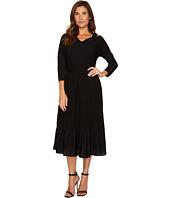 NIC+ZOE - Sleeved Shimmer Pleats Dress