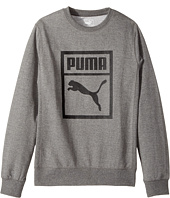 Puma Kids - Cotton French Terry Crew Neck (Big Kids)