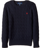 Polo Ralph Lauren Kids - Cable Knit Cotton Sweater (Big Kids)