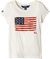 Polo Ralph Lauren Kids - Washed Cotton Graphic Tee (Little Kids)