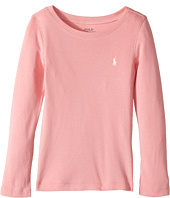 Polo Ralph Lauren Kids - Cotton Blend Long Sleeve Tee (Little Kids)