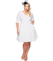 Unique Vintage - Plus Size Diane Swing Dress