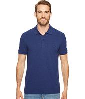 Lacoste - Short Sleeve Slubbed Pique Polo Dyed Used - Regular