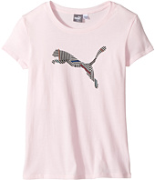 Puma Kids - Short Sleeve Cotton Tee & Headband (Big Kids)