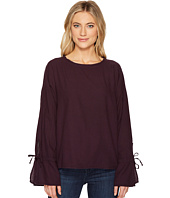 HEATHER - Liberty Twill Voile Tie Sleeve Top