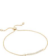 Dee Berkley - Friendship Adjustable Bracelet 14KT Gold Plated Sterling Silver and Coated Quartz