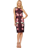 Calvin Klein - Flower Border Print Sheath Dress CD7MLV6N