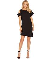 HEATHER - Caplan Asymmetrical Zip Dress