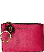 Marc Jacobs - Metallic Saffiano Top Zip Multi Wallet