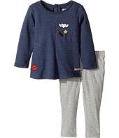 Hudson Kids - Two-Piece Heather Jersey Tunic w/ Stretch Jersey Leggings (Infant)