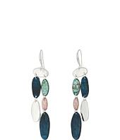 Robert Lee Morris - Silver and Patina Chandelier Earrings