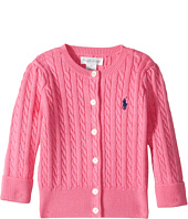Ralph Lauren Baby - Cable-Knit Cotton Cardigan (Infant)