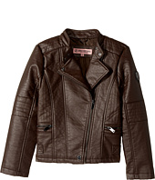Urban Republic Kids - Buffalo Faux Leather Moto (Little Kids/Big Kids)
