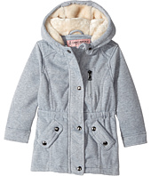 Urban Republic Kids - Long Silhouette Fleece Anorak with Pile in Hood (Toddler)