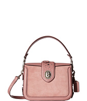 COACH - Tea Rose Tooling with Applique Page Crossbody