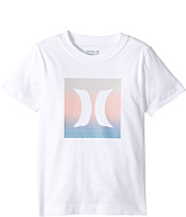 Hurley Kids - Stripe Fill Tee (Little Kids)