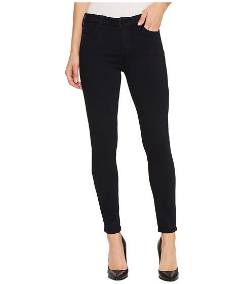 Liverpool Abby Skinny Jeans in Soft Silky Denim in Indigo Overdye Black