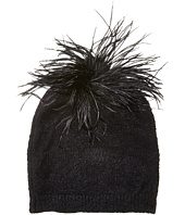 Echo Design - Feather Pom Hat