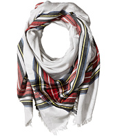 Echo Design - Oversize Plaid Square Scarf