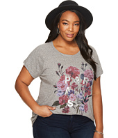 Lucky Brand - Plus Size Paradise Flowers Tee