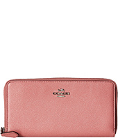 COACH - Metallic Accordion Zip Wallet