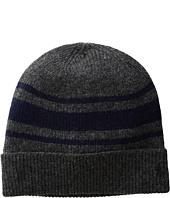Polo Ralph Lauren - Cashmere Blend Rugby Stripe Cuff Hat