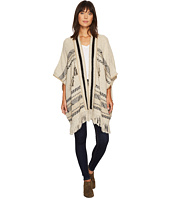 Lucky Brand - Stripe Poncho Sweater