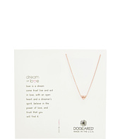 Dogeared - Dream of Love, Heart Charm, Chain Necklace