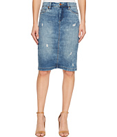 Blank NYC - Denim Pencil Skirt in Block Party