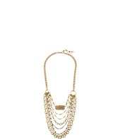 Lucky Brand - Druzy and Chain Layer Necklace
