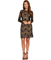 Karen Kane - Lace Curve Contrast Inset Dress