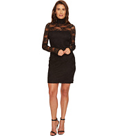 Karen Kane - Turtleneck Lace Dress